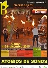 Autunno in Barbagia 2015 - Gadoni 'Prendas de jerru. Sapori, suoni e tradizioni della Barbagia' 4/5/6 dicembre